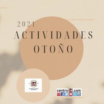 Participa en las actividades de otoño del Centro 14